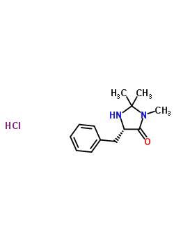 (5S)-2,2,3-trimethyl-5-phenylmethyl-4-imidazolidinone monohydrochloride 278173-23-2