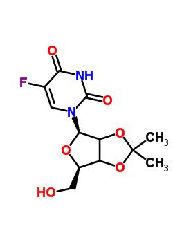 2797-17-3 5-fluoro-1-[2,3-O-(1-methylethylidene)-beta-D-glycero-pentofuranosyl]pyrimidine-2,4(1H,3H)-dione