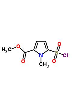 5-氯磺酰-1-甲基-1H-吡咯-2-羧酸甲酯 306936-53-8