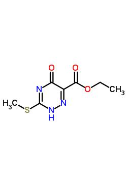 31143-85-8 ethyl 3-(methylsulfanyl)-5-oxo-2,5-dihydro-1,2,4-triazine-6-carboxylate
