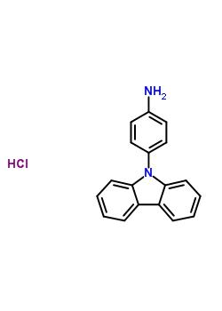 9-(4-氨基苯基)咔唑盐酸盐 312700-07-5