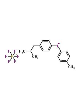 4-异丁基苯基-4'-甲基苯基碘六氟磷酸盐 344562-80-7;657350-30-6