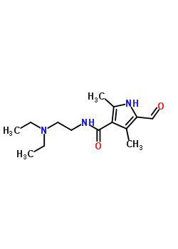 356068-86-5  5-Formyl-2,4-dimethyl-1H-pyrrole-3-carboxylic acid (2-diethylamino-ethyl)-amide