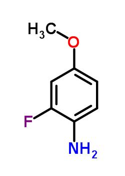 4-甲氧基-2-氟苯胺 458-52-6