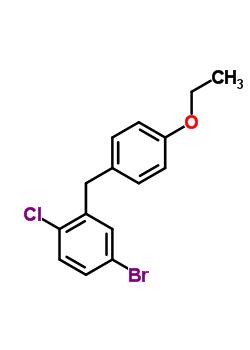 5-溴-2-氯-4'-乙氧基二苯甲烷 461432-23-5