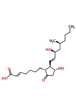 74397-12-9;114868-74-5;114868-76-7;85679-52-3 (2E)-7-{(1R,2R,3R)-3-hydroxy-2-[(1E,3S,5S)-3-hydroxy-5-methylnon-1-en-1-yl]-5-oxocyclopentyl}hept-2-enoic acid (non-preferred name)