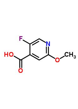 2-甲氧基-5-氟异烟酸 884495-30-1