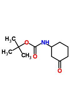 3-N-叔丁氧羰基氨基环己酮 885280-38-6