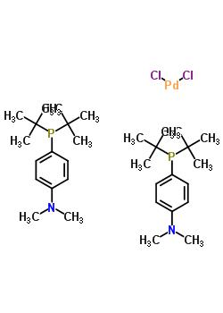 二氯,二叔丁基-(4-二甲基氨基苯基)磷鈀(II)
