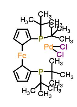 1,1'-双(二-叔丁基膦基)二茂铁二氯合钯 95408-45-0