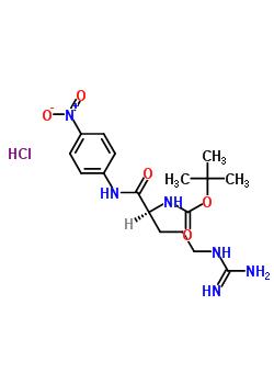NΑ-BOC-L-精氨酸-4-硝基苯胺盐酸盐 99306-64-6