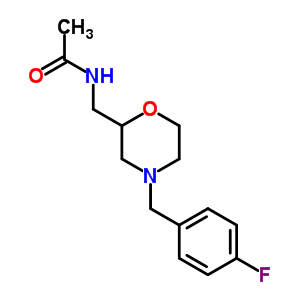112913-94-7 N-{[4-(4-fluorobenzyl)morpholin-2-yl]methyl}acetamide