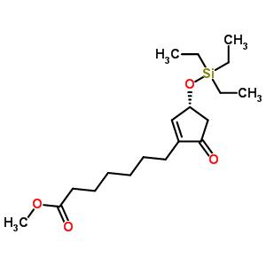 (3R)-5-氧代-3-[(三乙基硅烷基)氧基]-1-环戊烯-1-庚酸甲酯 118456-54-5