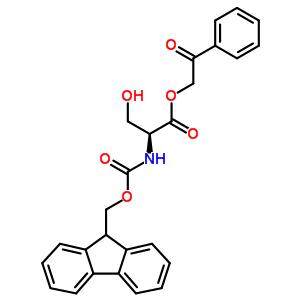 125760-26-1 2-oxo-2-phenylethyl N-[(9H-fluoren-9-ylmethoxy)carbonyl]-L-serinate