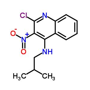 133860-75-0 2-chloro-N-(2-methylpropyl)-3-nitroquinolin-4-amine