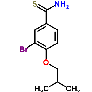 208665-96-7 3-bromo-4-isobutoxy-benzenecarbothioamide