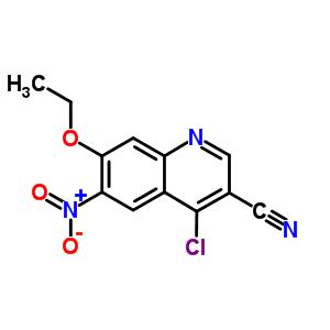 214476-09-2 4-chloro-7-ethoxy-6-nitroquinoline-3-carbonitrile