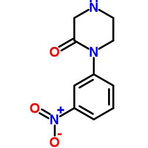 215649-84-6 1-(3-nitrophenyl)piperazin-2-one