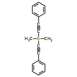 2170-08-3 Dimethyl[bis(phenylethynyl)]silane