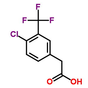 22902-86-9 [4-chloro-3-(trifluoromethyl)phenyl]acetic acid