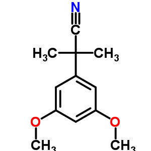 22972-63-0 2-(3,5-dimethoxyphenyl)-2-methylpropanenitrile
