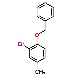 1-苄氧基-2-溴-4-甲基苯 2830-53-7