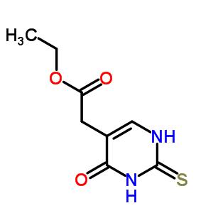 29571-39-9 ethyl (4-oxo-2-thioxo-1,2,3,4-tetrahydropyrimidin-5-yl)acetate