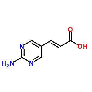 335030-80-3 (2E)-3-(2-aminopyrimidin-5-yl)prop-2-enoic acid