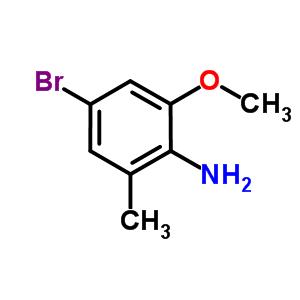 4-溴-2-甲基-6-甲氧基苯胺 348169-39-1