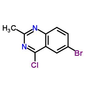 351426-04-5 6-bromo-4-chloro-2-methylquinazoline