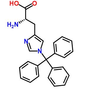 35146-32-8 (2S)-2-ammonio-3-(1-trityl-1H-imidazol-4-yl)propanoate