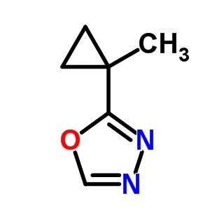 353238-51-4 2-(1-methylcyclopropyl)-1,3,4-oxadiazole