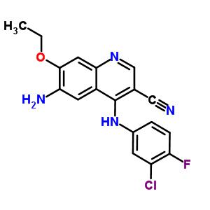 361162-95-0 6-amino-4-[(3-chloro-4-fluorophenyl)amino]-7-ethoxyquinoline-3-carbonitrile