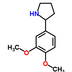 367281-00-3 2-(3,4-dimethoxyphenyl)pyrrolidine