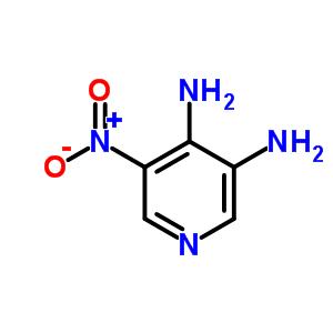 4318-68-7 5-nitropyridine-3,4-diamine