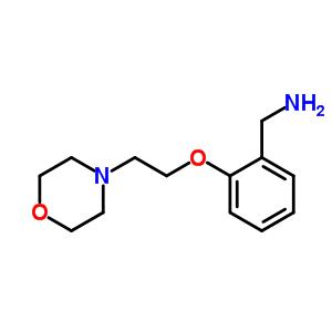 540753-13-7 1-[2-(2-morpholin-4-ylethoxy)phenyl]methanamine