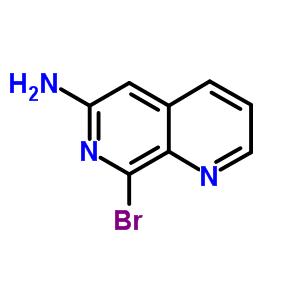 5912-35-6 8-bromo-1,7-naphthyridin-6-amine