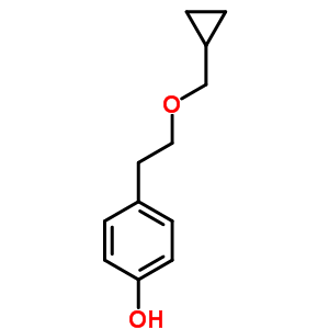 63659-16-5 4-[2-(cyclopropylmethoxy)ethyl]phenol