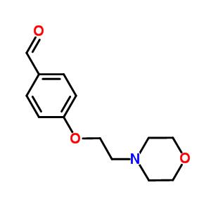 82625-45-4 4-(2-morpholin-4-ylethoxy)benzaldehyde