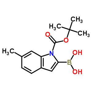 850568-51-3 [1-(tert-butoxycarbonyl)-6-methyl-1H-indol-2-yl]boronic acid