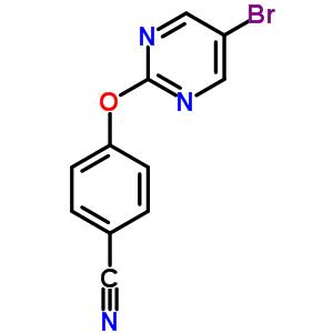 887430-98-0 4-[(5-bromopyrimidin-2-yl)oxy]benzonitrile
