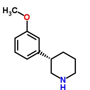 88784-37-6 (3S)-3-(3-methoxyphenyl)piperidine