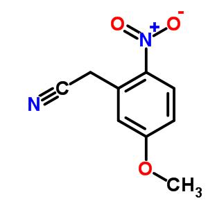 Benzeneacetonitrile,5-methoxy-2-nitro- 89302-15-8