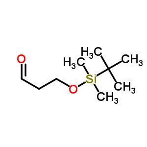 89922-82-7 3-{[tert-Butyl(dimethyl)silyl]oxy}propanal