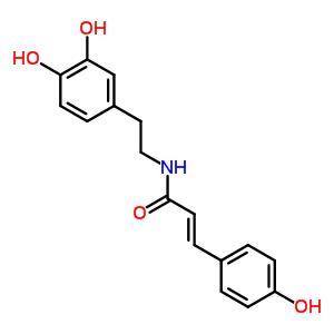 103188-46-1 (2E)-N-[2-(3,4-dihydroxyphenyl)ethyl]-3-(4-hydroxyphenyl)prop-2-enamide
