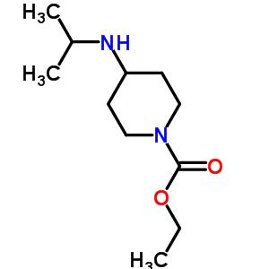 104605-11-0 ethyl 4-[(1-methylethyl)amino]piperidine-1-carboxylate