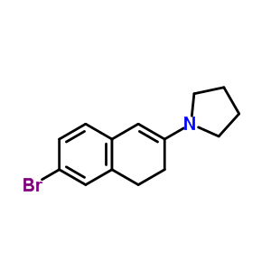 113075-66-4 1-(6-bromo-3,4-dihydronaphthalen-2-yl)pyrrolidine