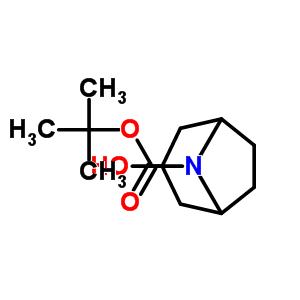 3-羟基-8-氮杂双环[3.2.1]辛烷-8-甲酸叔丁酯 143557-91-9