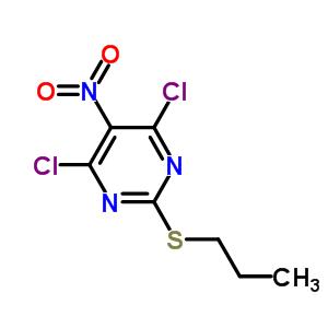 145783-14-8 4,6-dichloro-5-nitro-2-(propylsulfanyl)pyrimidine