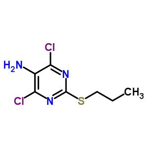 4,6-二氯-2-丙硫基-5-氨基嘧啶